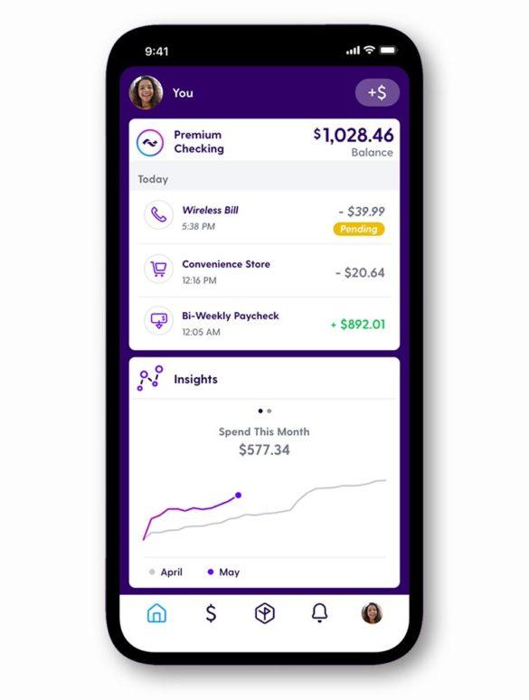 current premium checking mobile app