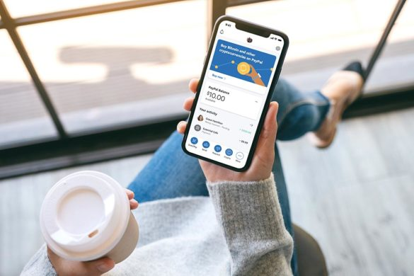 PayPal crypto mobile app