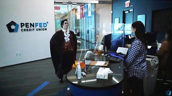 PenFed Dracula spoof