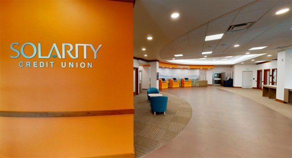 Solarity Credit Union branch redesign