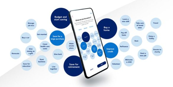 BofA wellness app goals