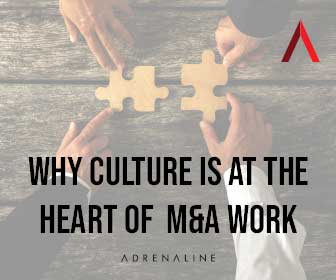 Adrenaline | Putting Culture at the Heart of the M&A Process