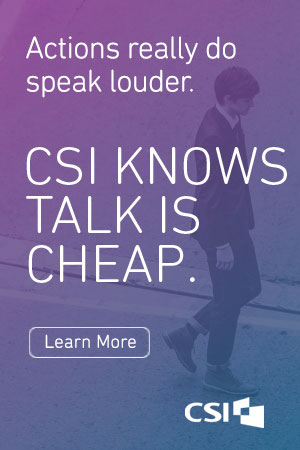CSI | We Like to Show, Not Tell