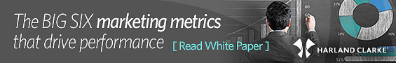 Harland Clarke | Six Must-Know Marketing Metrics