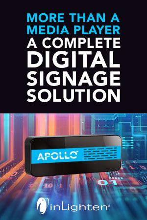 Inlighten | A Complete Digital Signage Solution