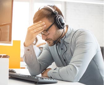 Image for Webinar: Is Your Call Center Getting Crushed?
