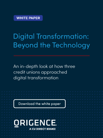 Origence | Digital Transformation: Beyond the Technology
