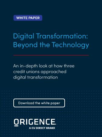 Origence | Digital Transformation: Beyond the Technology